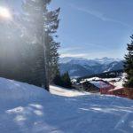 retour ski aux pieds